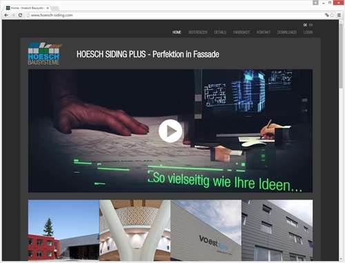 Hoesch® Siding plus