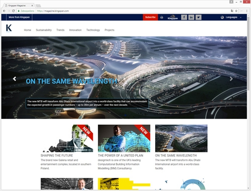 Kingspan magazine